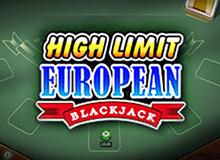 Игровой автомат Европейский Блекждек По Крупным онлайн